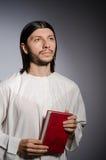 Priest man Stock Photo