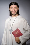 Priest man in religious Royalty Free Stock Images