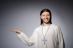 Priest man in religious royalty free stock photos
