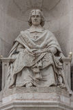 Priest monument. Stone male monument/priest monument/monument Royalty Free Stock Images