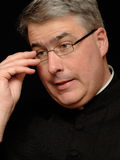 Priest portrait Royalty Free Stock Photo