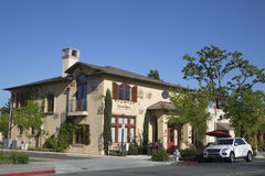 Priest Ranch Winery in Yountville, Napa Valley Stock Photos