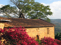 Priest's house in Barichara Stock Images