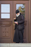 The priest in sam sergei abbey,russian federation Stock Images