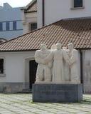 Priester Daens Statue Stock Images