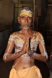Priester im Tempel Madurai Stockfotos