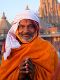 Priester in Jaipur Stockfotos