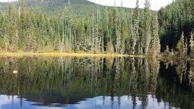Priester Lake Reflection Stockfotos