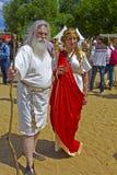 Priestess и философ Стоковая Фотография RF