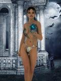 Priestess of the night Stock Photography