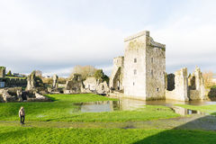 Prieuré Irlande de Kells Photos libres de droits