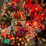 Priez pour Barcelone Image stock