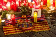 Priez pour Barcelone 06 Image libre de droits