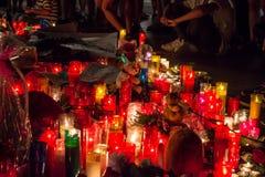 Priez pour Barcelone 26 Images stock
