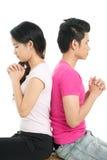 Priez pour votre amour Image stock