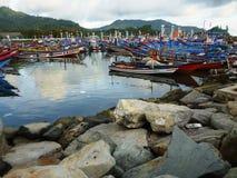 Prigi beautiful beaches Stock Photos