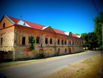 Prigione abbandonata Fotografia Stock Libera da Diritti