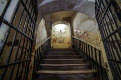 Prigione abbandonata, Patarei a Tallinn, Estonia Fotografie Stock