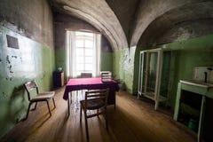 Prigione abbandonata, Patarei a Tallinn, Estonia Fotografia Stock