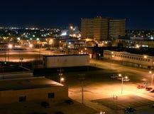 Prigione del centro della contea dell'Oklahoma nella distanza Fotografia Stock