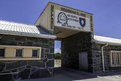 Prigione dell'isola di Robben Immagine Stock