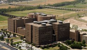 Prigione della contea immagine stock libera da diritti