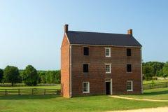 Prigione della contea di Appomattox - parco storico nazionale della Camera di corte di Appomattox fotografia stock libera da diritti