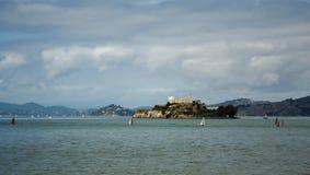 Prigione di Alcatraz nel San Francisco Bay Fotografia Stock