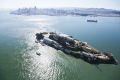 Prigione di Alcatraz a San Francisco Fotografia Stock Libera da Diritti