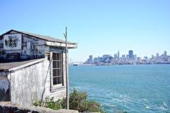 Prigione di Alcatraz, U.S.A. fotografia stock libera da diritti