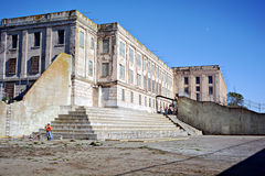 Prigione di Alcatraz, U.S.A. fotografie stock libere da diritti