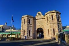 Prigione di Fremantle, una costruzione del patrimonio mondiale in Fremantle Immagini Stock Libere da Diritti