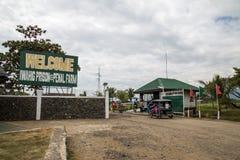 Prigione di Iwahig ed azienda agricola penale Fotografie Stock