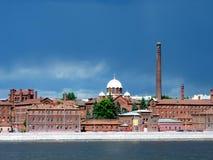 Prigione di Kresty, St Petersburg Fotografia Stock Libera da Diritti