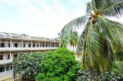 Prigione di Tuol Sleng (S21), Phnom Penh Fotografie Stock