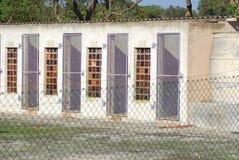 Prigione esterna dell'isola di Robben Fotografia Stock Libera da Diritti