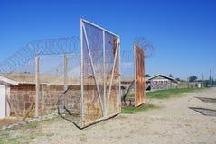 Prigione esterna dell'isola di Robben Immagini Stock