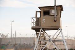 Prigione israeliana in Cisgiordania Immagini Stock