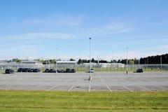 Prigione media canadese di sicurezza Fotografia Stock Libera da Diritti