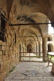 prigione molto vecchia a Gerusalemme fotografia stock libera da diritti