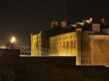 Prigione nella città di Walbrzych poland fotografia stock