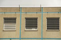 Prigione Windows Fotografia Stock