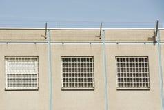 Prigione Windows Fotografia Stock Libera da Diritti