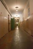 Prigioni delle cellule del corridoio Immagine Stock