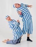 Prigionieri pazzeschi Fotografia Stock