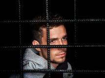 Prigioniero fotografie stock