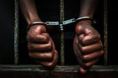 Prigioniero Immagine Stock