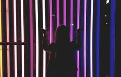 Prigioniero al neon fotografia stock libera da diritti