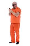 Prigioniero arrabbiato fotografia stock