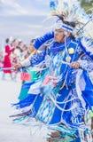 Prigioniero di guerra wow della tribù del Paiute Fotografie Stock Libere da Diritti